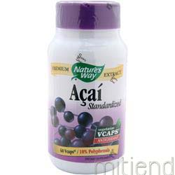 Acai - Standardized Extract 60 caps NATURE'S WAY