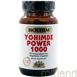Yohimbe Power 1000 90 caps BIOCHEM