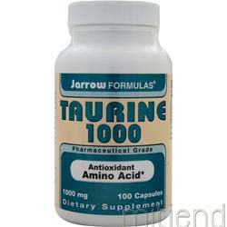 Taurine 1000 100 caps JARROW