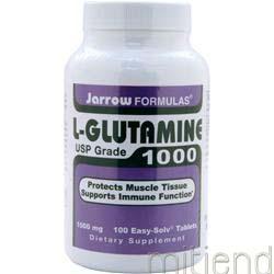 L-Glutamine 1000 100 tabs JARROW