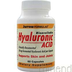 Bioavailable Hyaluronic Acid 50mg 60 caps JARROW