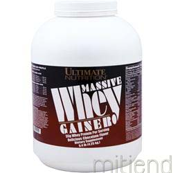 Massive Whey Gainer Chocolate 9 4 lbs ULTIMATE NUTRITION