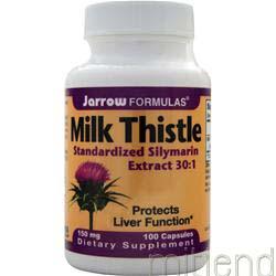 Milk Thistle 150mg 100 caps JARROW
