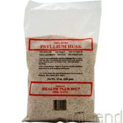 Psyllium Husk 12 oz HEALTH PLUS