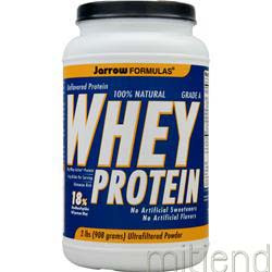 100% Natural Whey Protein Unflavored 2 lbs JARROW