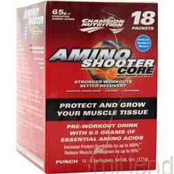 Amino Shooter Core plus Punch 18 pckts CHAMPION NUTRITION