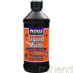 Liquid Multi Wild Berry 16 fl oz NOW