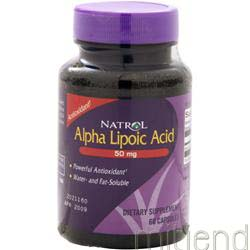 Alpha Lipoic Acid 50mg 60 caps NATROL