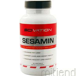 Sesamin 90 sgels SCIVATION