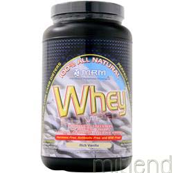 100% All Natural Whey Rich Vanilla 2 02 lbs MRM