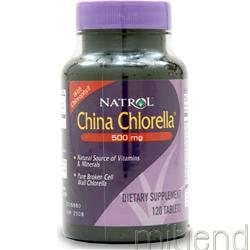China Chlorella 500mg 120 tabs NATROL