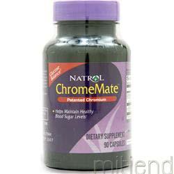 ChromeMate 200mcg 90 caps NATROL