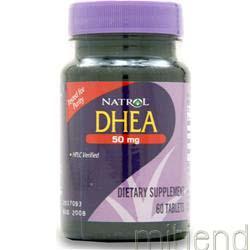 DHEA 50mg 60 tabs NATROL