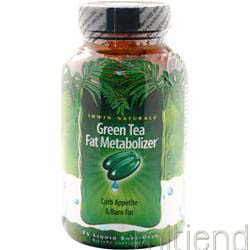 Green Tea Fat Metabolizer 75 sgels IRWIN NATURALS