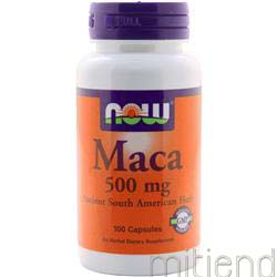 Maca 500mg 100 caps NOW