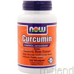 Curcumin 120 caps NOW