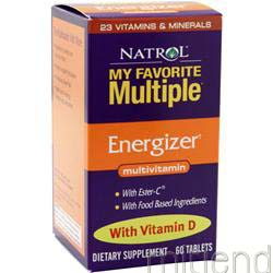My Favorite Multiple Energizer 60 tabs NATROL