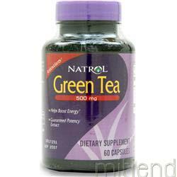 Green Tea 500mg 60 caps NATROL