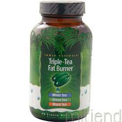 Triple-Tea Fat Burner 75 sgels IRWIN NATURALS