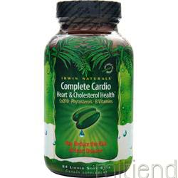 Complete Cardio Heart & Cholesterol Health 84 sgels IRWIN NATURALS