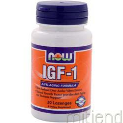 IGF-1 30 lzngs NOW