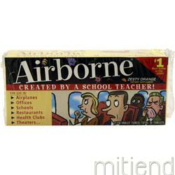 Airborne Zesty Orange 36 tabs AIRBORNE