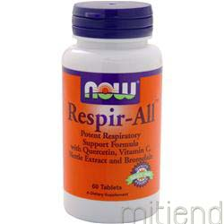 Respir-All 60 tabs NOW