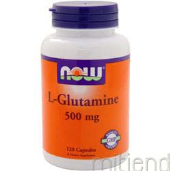 L-Glutamine 500mg 60 caps NOW