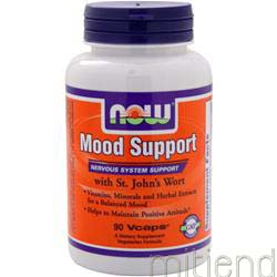 Mood Support with St  John's Wort 90 caps NOW