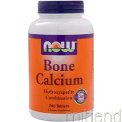 Bone Calcium 240 tabs NOW