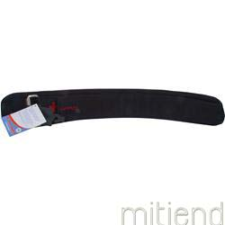 4 Inch Lifting Belt Black Medium 28-37waist 1 belt HARBINGER