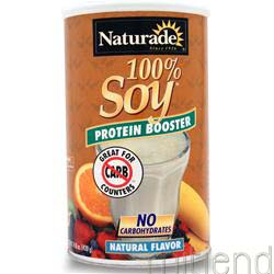 100% Soy Protein Booster Natural 14 8 oz NATURADE