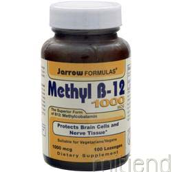 Methyl B-12 1000mcg 100 lzngs JARROW