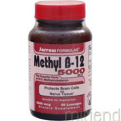 Methyl B-12 5000mcg 60 lzngs JARROW