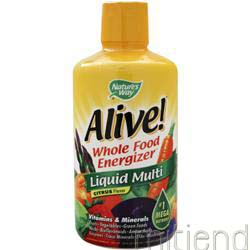 Alive Multivitamin - Liquid Citrus 30 fl oz NATURE'S WAY