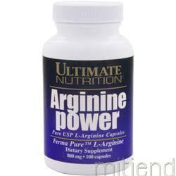 Arginine Power 100 caps ULTIMATE NUTRITION