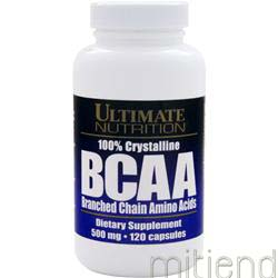 BCAA 500mg 120 caps ULTIMATE NUTRITION