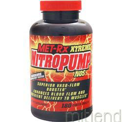 Xtreme NitroPump NOS 180 tabs MET-RX