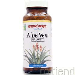 Aloe Vera Leaf 100 caps NATURE'S HERBS
