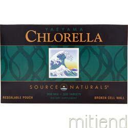Yaeyama Chlorella 300 tabs SOURCE NATURALS