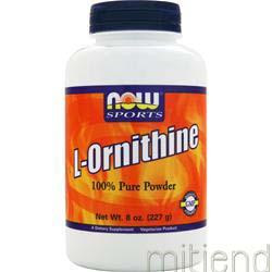 L-Ornithine 100% Pure Powder 8 oz NOW