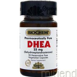 DHEA 25mg 90 caps COUNTRY LIFE