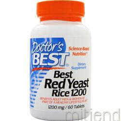 Best Red Yeast Rice 1200mg 60 tabs DOCTOR'S BEST