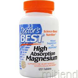 High Absorption Magnesium 120 tabs DOCTOR'S BEST