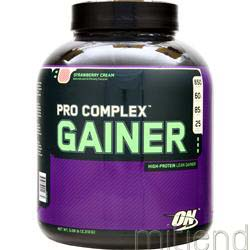 Pro Complex Gainer Strawberry Cream 5 08 lbs OPTIMUM NUTRITION