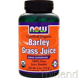 Barley Grass Juice 4 oz NOW