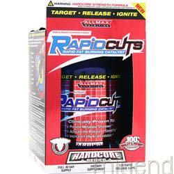 RapidCuts Hardcore 120 caps ALLMAX NUTRITION