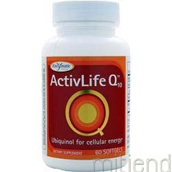 ActivLife Q10 - Ubiquinol 50mg 60 sgels ENZYMATIC THERAPY