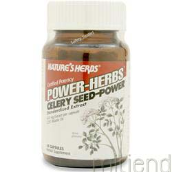 Celery Seed - Power 60 caps NATURE'S HERBS