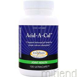 Acid-A-Cal 100 caps ENZYMATIC THERAPY
